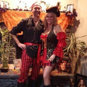 Cut Throat Captain Pirate Costume